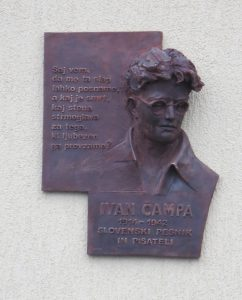 Čampa Ivan spominska plošča 1 242x300 - Enota Ivana Čampa Nova vas