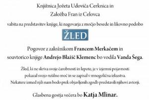 788 2 300x202 - Žled - Kratke zgodbe o izkustvih skozi srhljivo ledeno ujmo in čarobnost žleda v Sloveniji 2014 - predstavitev knjige