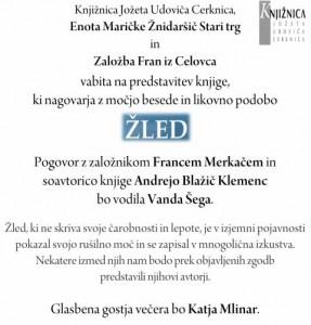795 3 287x300 - Žled - Kratke zgodbe o izkustvih skozi srhljivo ledeno ujmo in čarobnost žleda v Sloveniji 2014