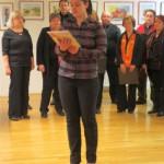 802 6 150x150 - Prireditev ob slovenskem kulturnem prazniku in otvoritev likovne razstave članov KD Rak Rakek