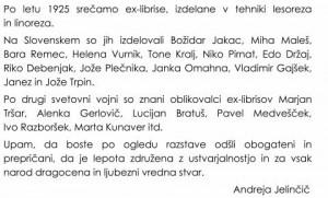 880 4 300x181 - Ex-librisi družine Jelinčič - razstava