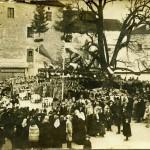 Domovanje Udovicevih levi protiturski tabor v Cerknici slika je bila posneta 26. decembra 1915 150x150 - Jože Udovič
