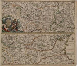 Danckert Exactissima Totius Danubii Fluvii 1700 1024 300x259 - Zemljevidi