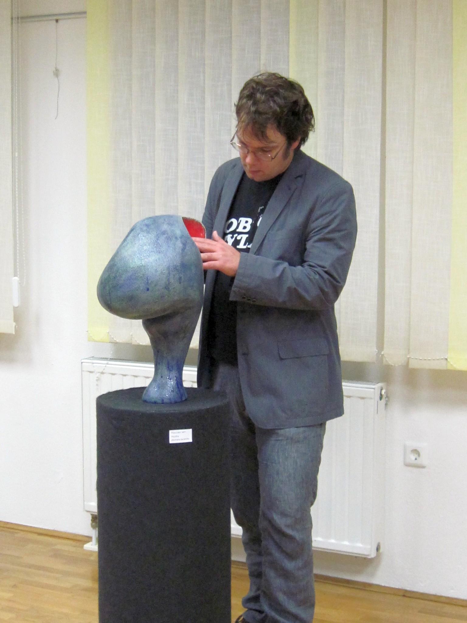 IMG 2250 - Anja Lautar - kiparska razstava