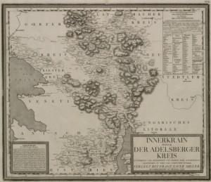 Innerkrain oder der adelsberger kreis 1024 300x259 - Zemljevidi