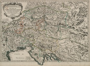 Sanson Duches de Stirie Carinthie Carniole 1657 1024 300x222 - Zemljevidi