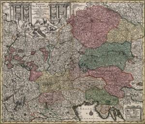 Seutterum Maiestas Austriaca 1024 300x257 - Zemljevidi