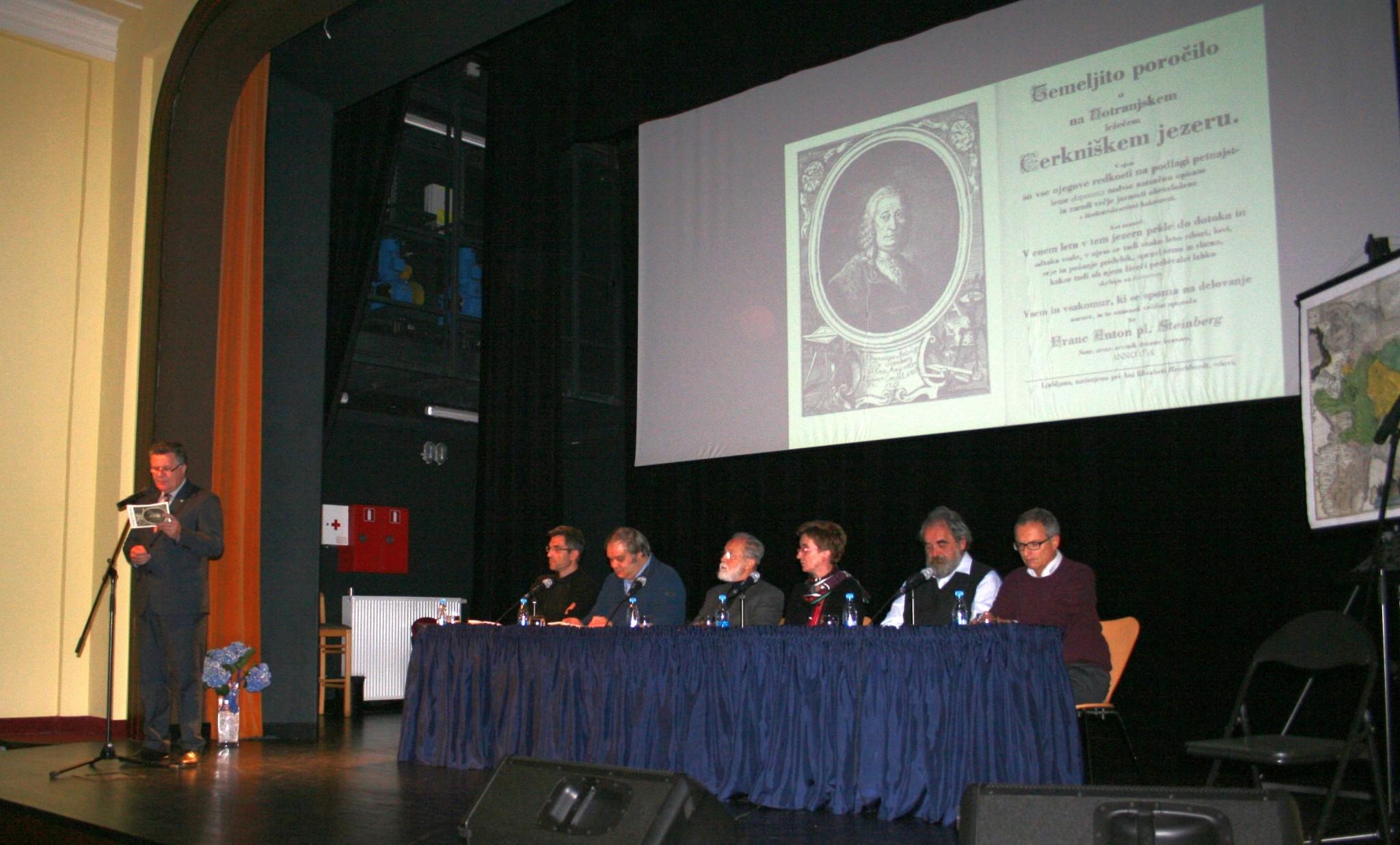 image005 - Predstavitev monografije Franca Antona pl. Steinberga Temeljito poročilo o na Notranjskem ležečem Cerkniškem jezeru