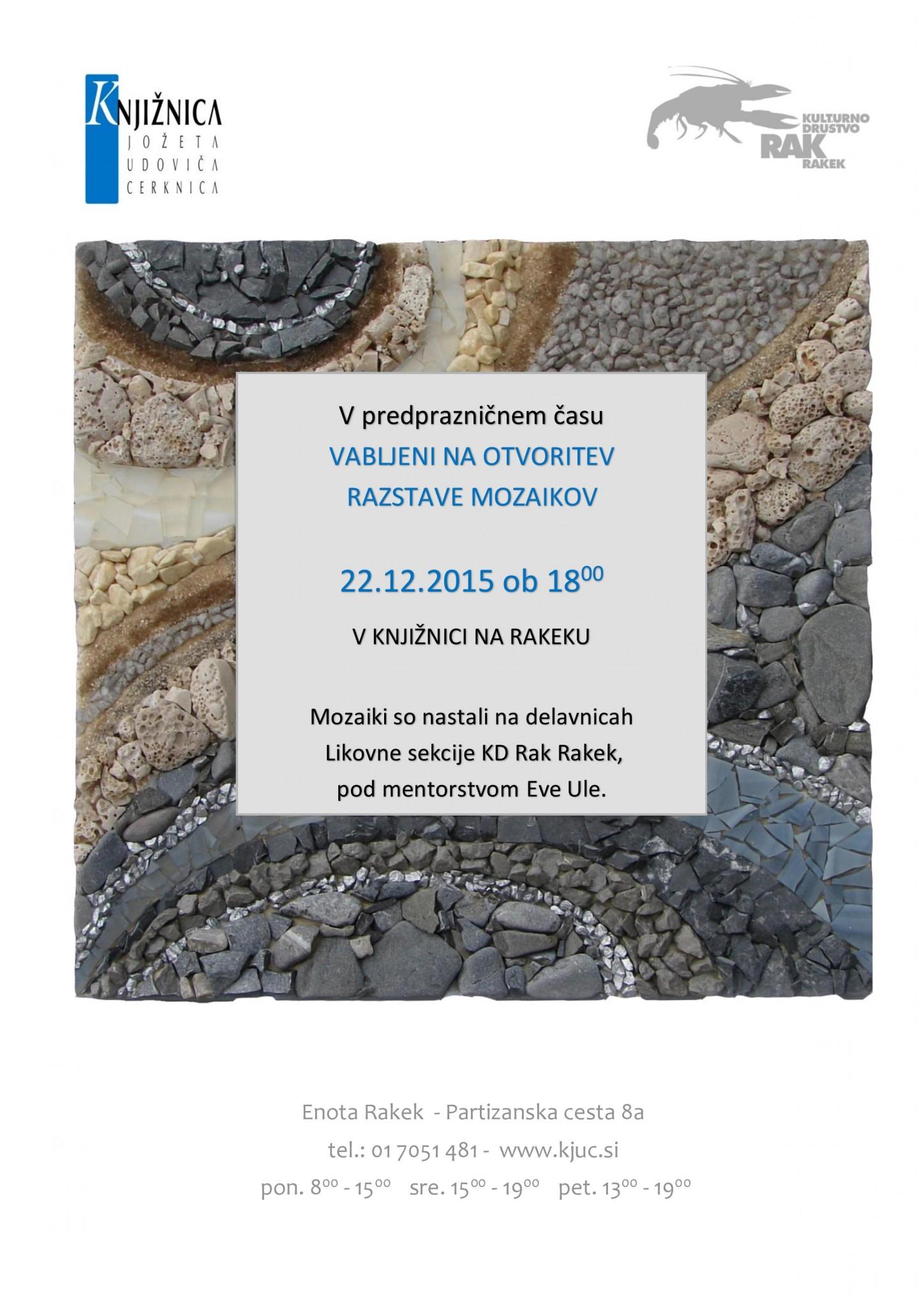 vabilo page 001 - Razstava mozaikov