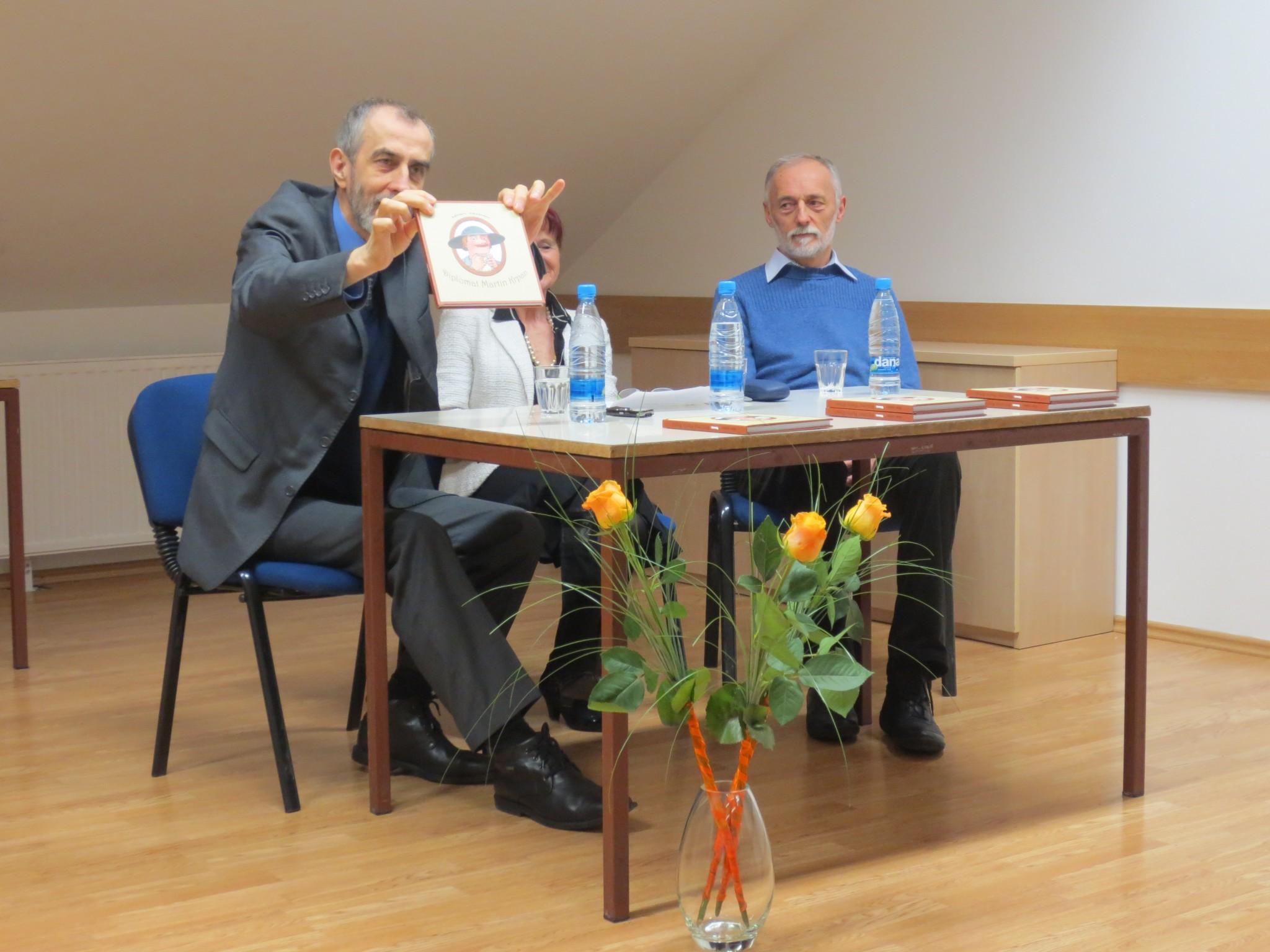 IMG 3508 - Milan Jazbec: Diplomat Martin Krpan