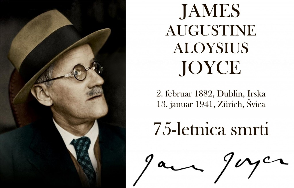 JAMES fb 1024x657 - James Joyce - razstava ob 75-letnici smrti