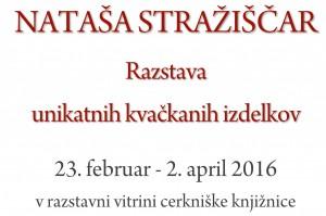 NATAŠA STRAŽIŠČAR Razstava 300x199 - Nataša Stražiščar - razstava unikatnih kvačkanih izdelkov