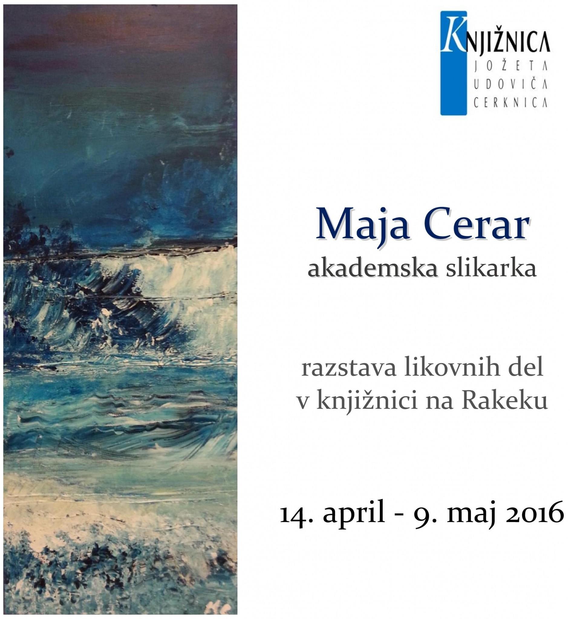 cover 4 - Razstava likovnih del Maje Cerar