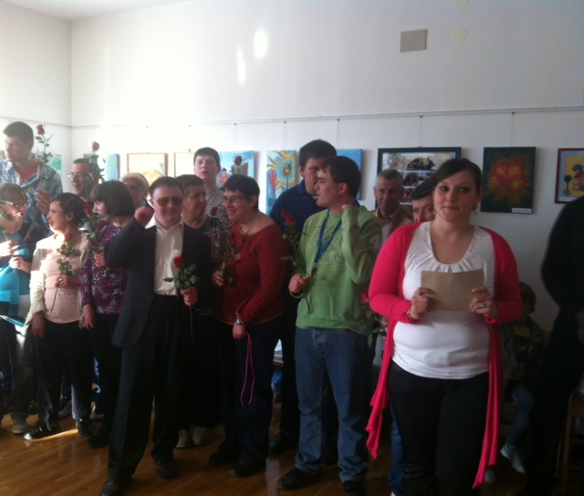 image 1 3 - Skupaj zmoremo - otvoritev razstave del VDC Cerknica