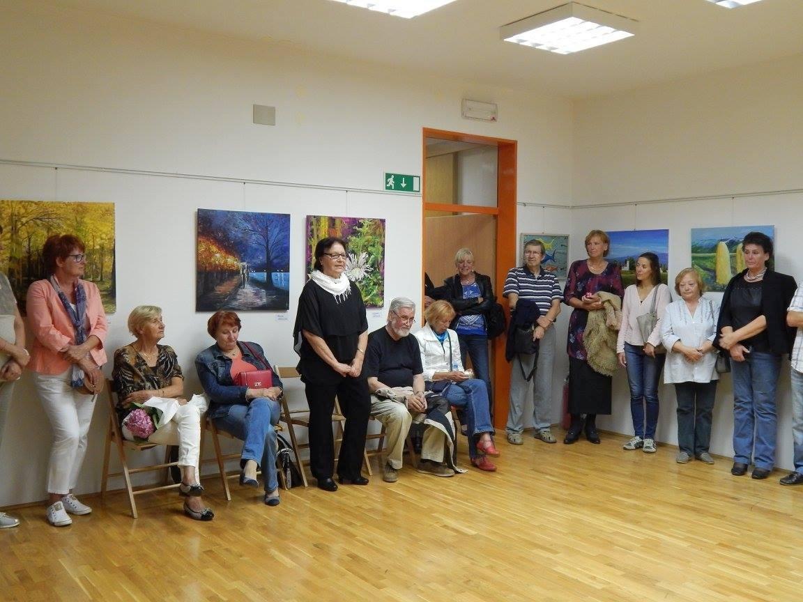 lk10 - Otvoritev razstave 5. mednarodne likovne kolonije v organizaciji Slovenskega kulturnega društva Gorski kotar