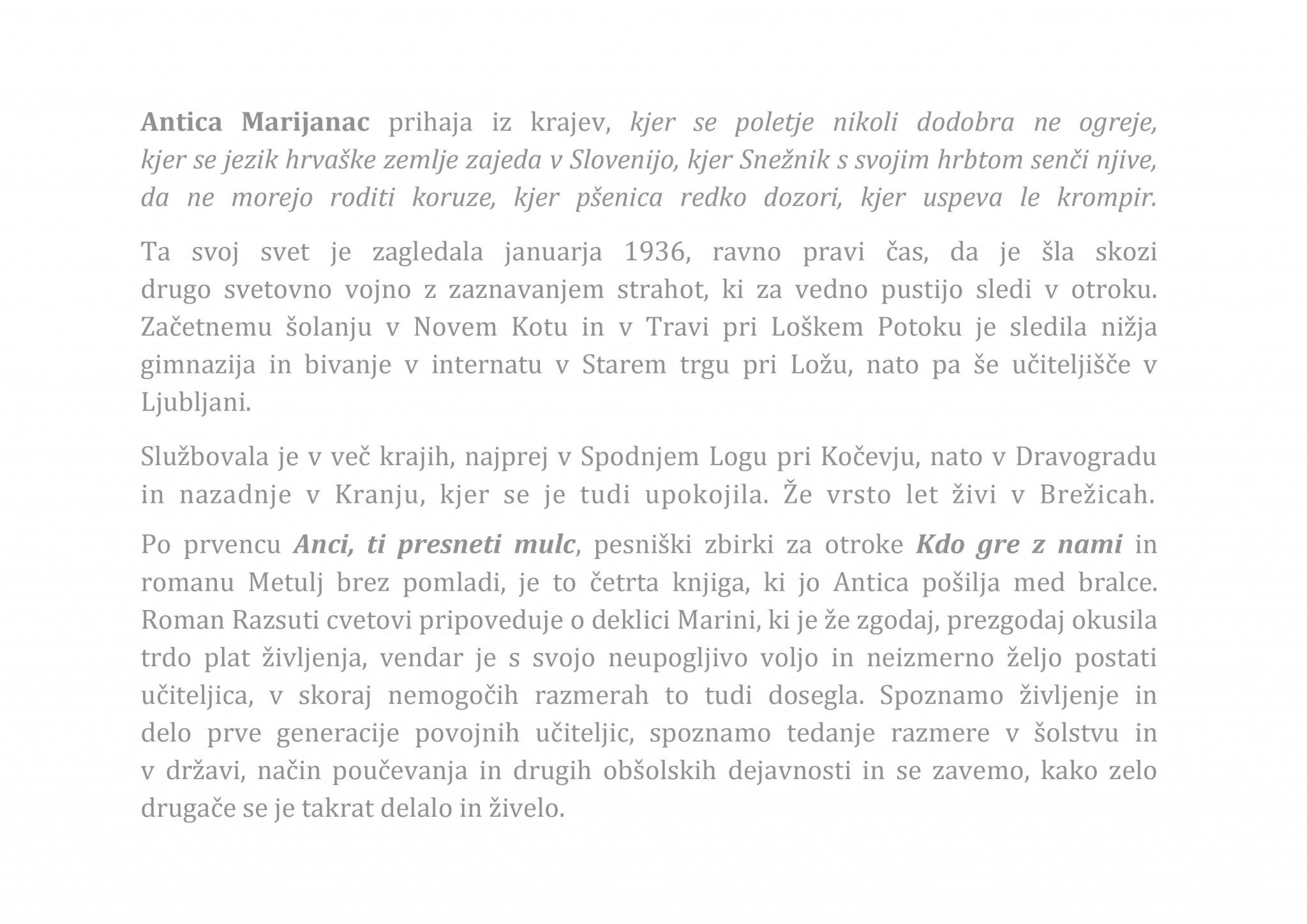 Antica Marijanac. 2016 page 002 - Antica Marijanac: Razsuti cvetovi