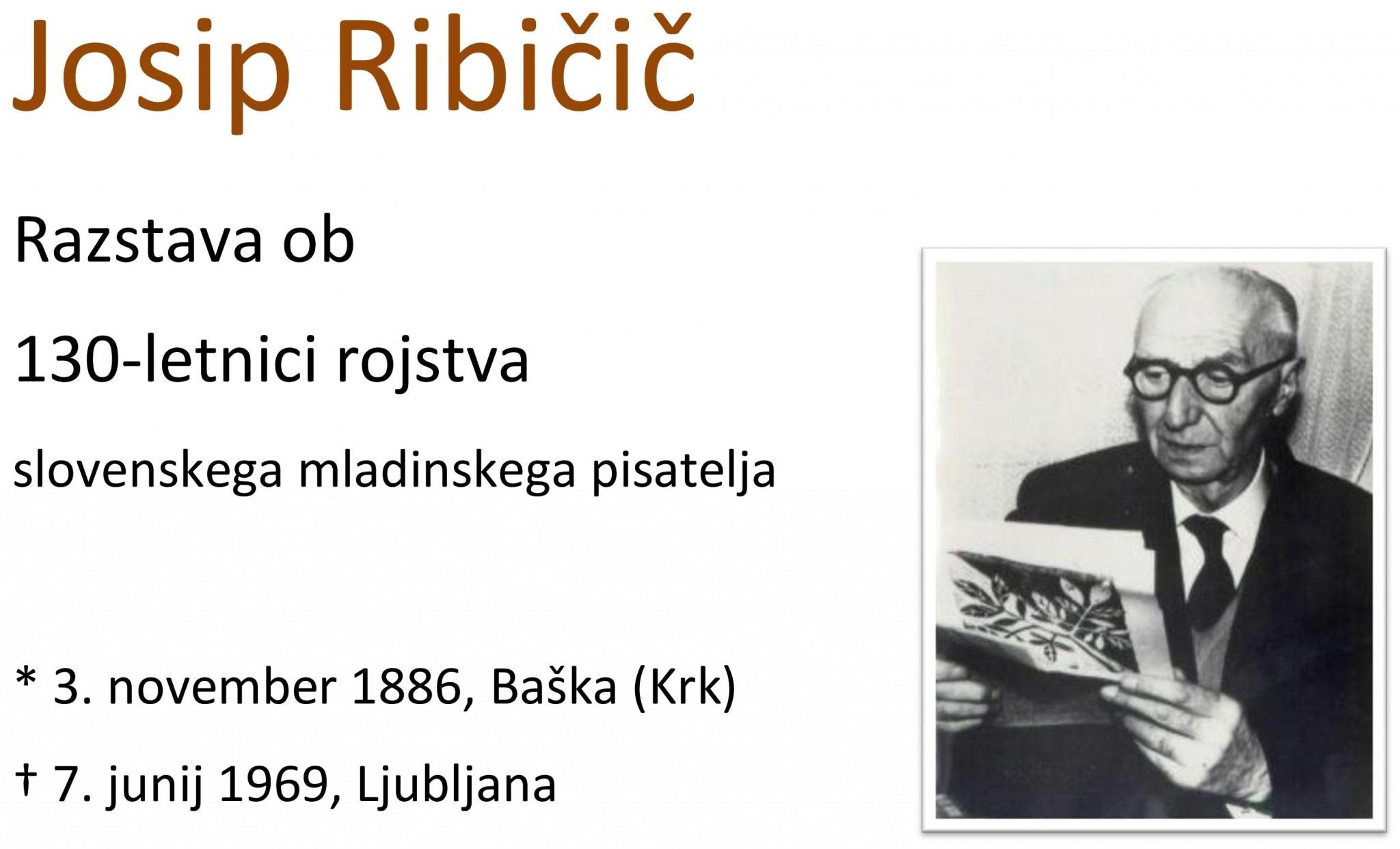 cover 3 - Josip Ribičič - razstava ob 130-letnici rojstva
