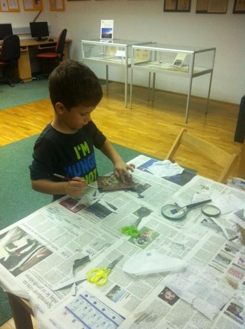 image 1 - Pravljična urica  z ustvarjalno delavnico  za otroke od 4. leta dalje