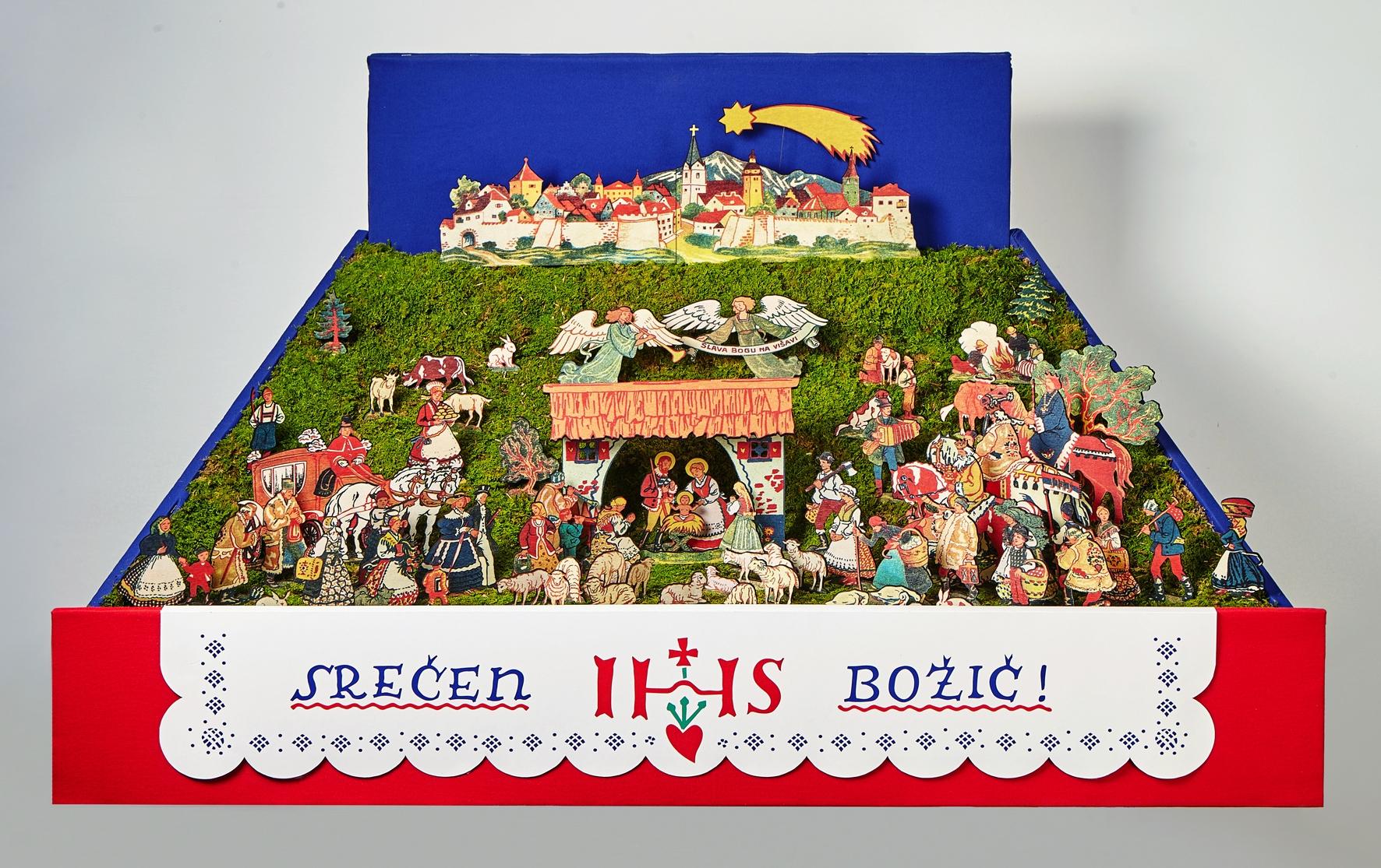 Gasparijeve jaslice narejene 12 2015 foto Matjaž Žnidaršič - Arhiv razstave