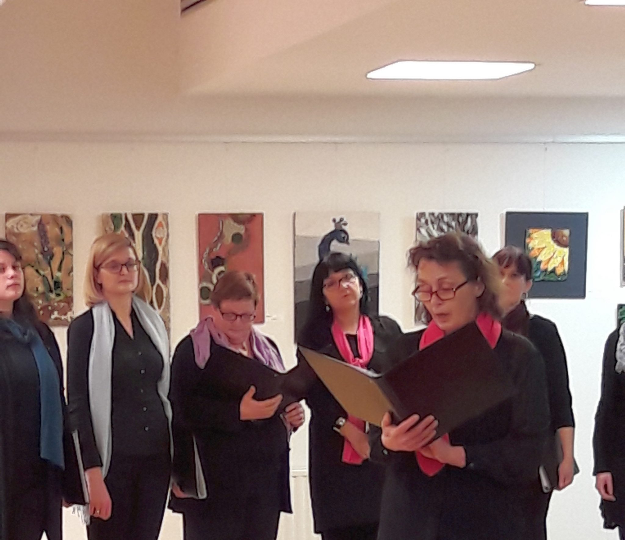 20170203 190830 - Prireditev ob slovenskem kulturnem prazniku in otvoritev razstave mozaikov