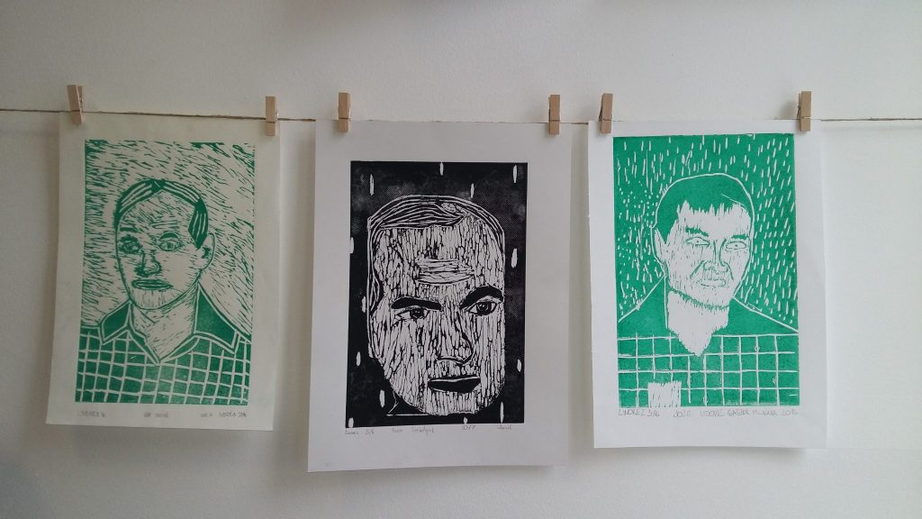 20170306 114800 1024x576 - Slikanje portretov: Valvasor, Udovič - razstava likovnih del osnovnošolcev