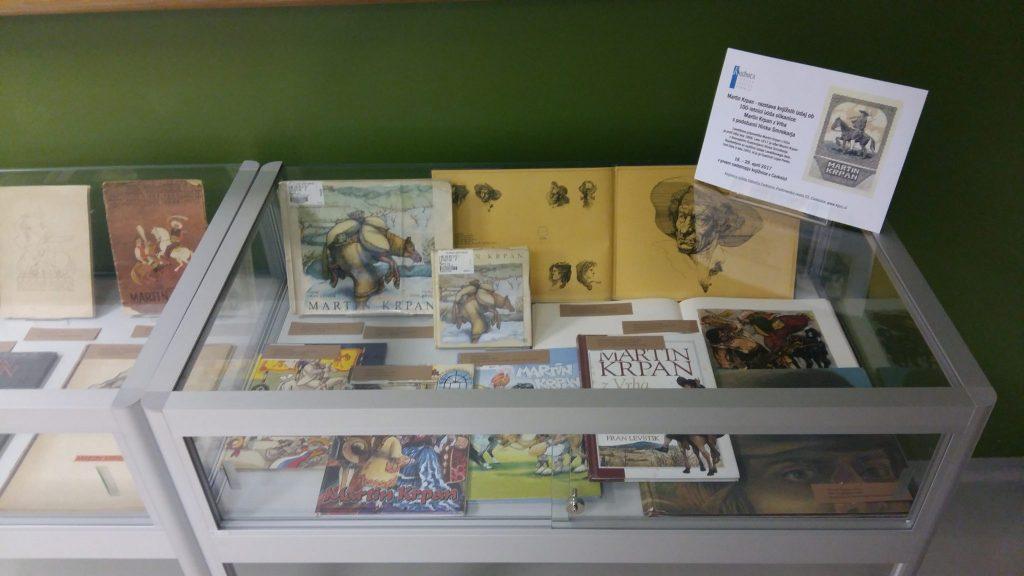 20170508 131155 1024x576 - Razstava knjižnih izdaj ob 100-letnici izida slikanice Martin Krpan z Vrha s podobami Hinka Smrekarja