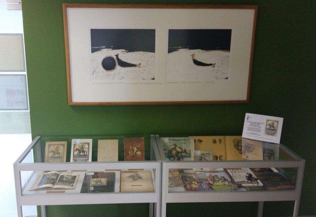 20170508 131252 1024x704 - Razstava knjižnih izdaj ob 100-letnici izida slikanice Martin Krpan z Vrha s podobami Hinka Smrekarja