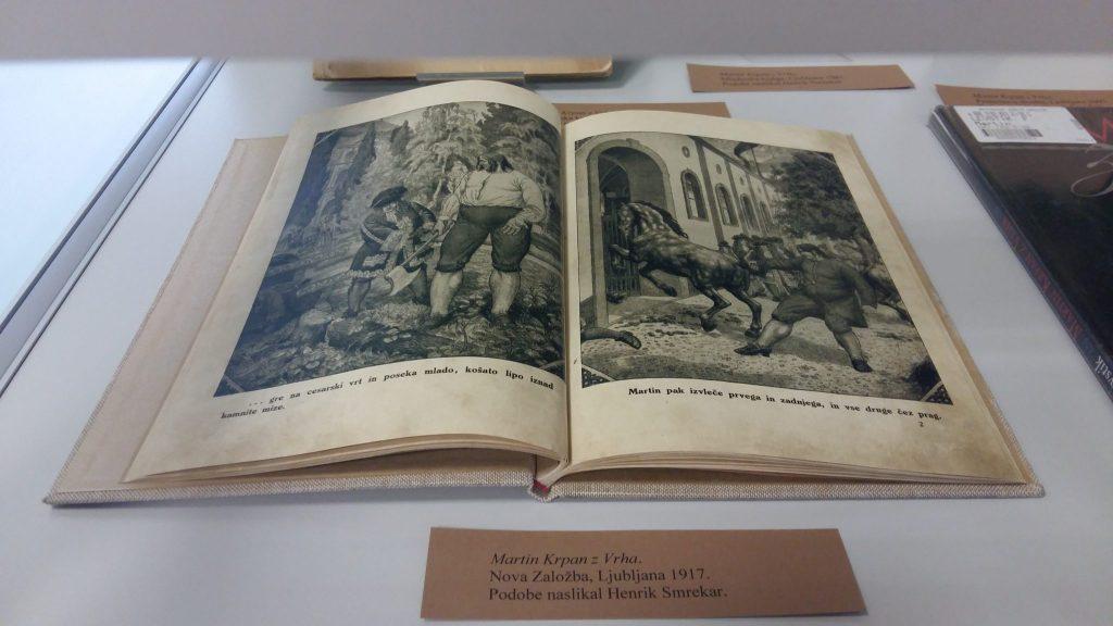 20170508 131338 1024x576 - Razstava knjižnih izdaj ob 100-letnici izida slikanice Martin Krpan z Vrha s podobami Hinka Smrekarja