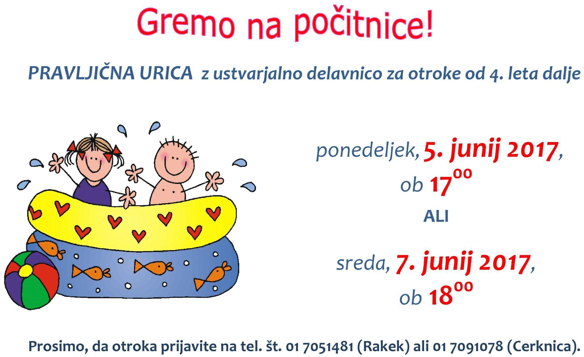 cover www - Pravljična urica z ustvarjalno delavnico za otroke od 4. leta dalje – enota Rakek