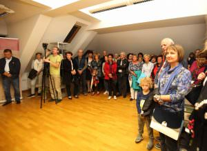 OTVORITEV RAZSTAVE 05 FOTO LJUBO VUKELIČ 300x219 - Fran Gerbič – otvoritev razstave ob stoletnici smrti