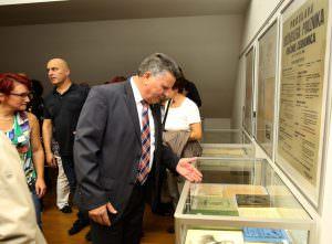 OTVORITEV RAZSTAVE 20 FOTO LJUBO VUKELIČ 300x221 - Fran Gerbič – otvoritev razstave ob stoletnici smrti