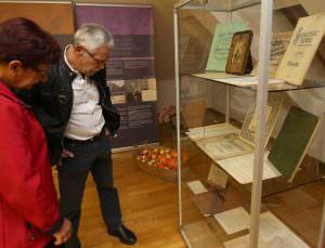 OTVORITEV RAZSTAVE 22 FOTO LJUBO VUKELIČ 300x229 - Fran Gerbič – otvoritev razstave ob stoletnici smrti