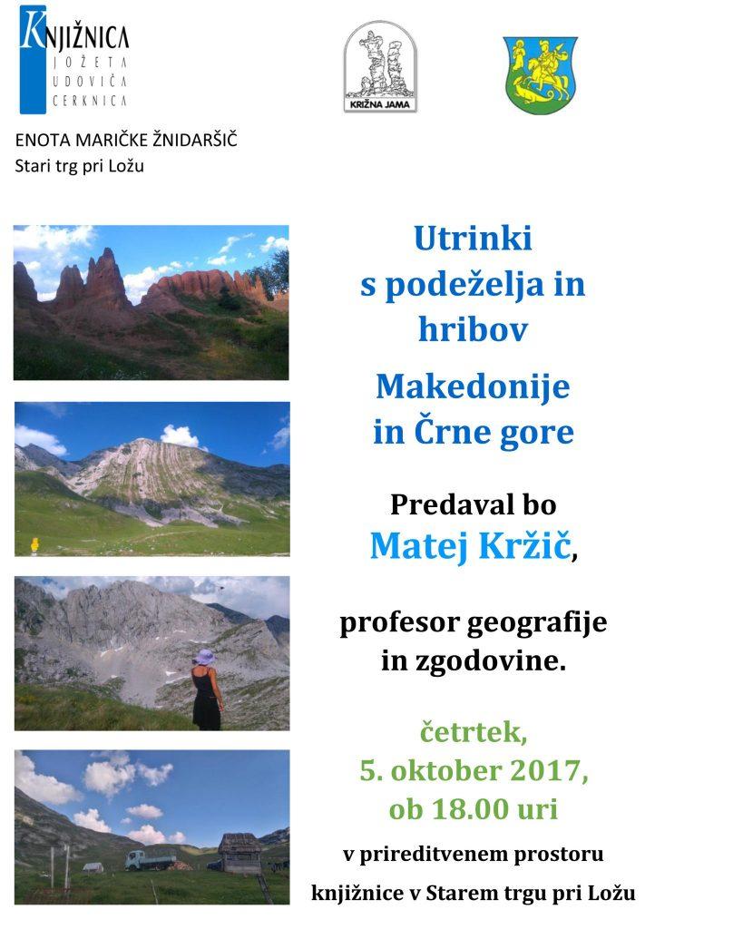ST Kržič okt 2017 819x1024 - Matej Kržič: Utrinki s podeželja in hribov Makedonije in Črne gore