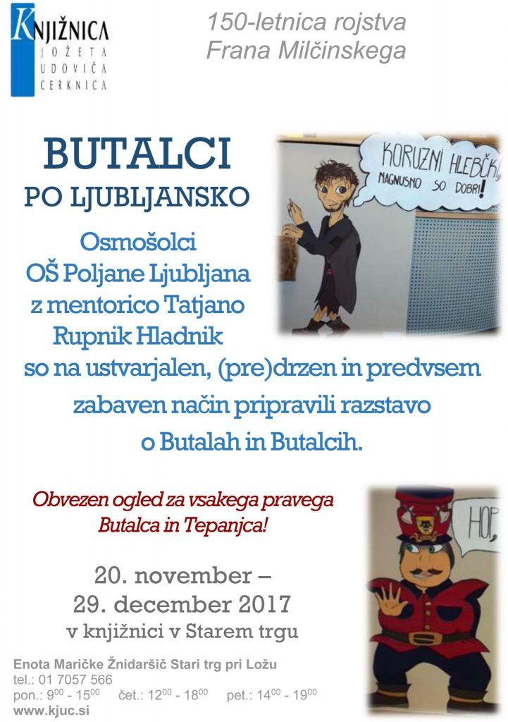 razstava 3 721x1024 - Butalci po ljubljansko