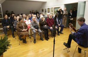 OTVORITEV RAZSTAVE 02 FOTO LJUBO VUKELIČ 300x195 - Ivan Matičič - otvoritev razstave ob 130-letnici rojstva
