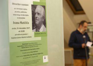 OTVORITEV RAZSTAVE 16 FOTO LJUBO VUKELIČ 300x212 - Ivan Matičič - otvoritev razstave ob 130-letnici rojstva