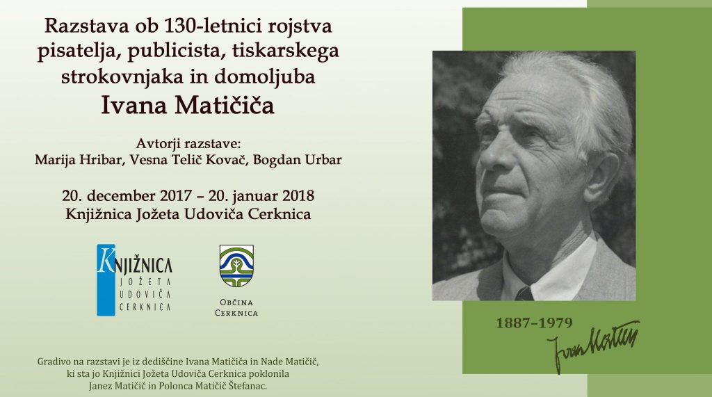 razstava copy 1 1024x571 - Razstava, posvečena Ivanu Matičiču