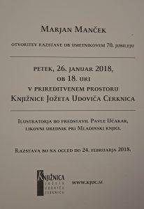 DSC04814 206x300 - Marjan Manček - otvoritev razstave ob 70. jubileju