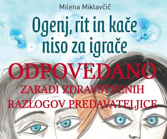 ODPOVEDANOmala naslovnica - ODPOVEDANO - Milena Miklavčič