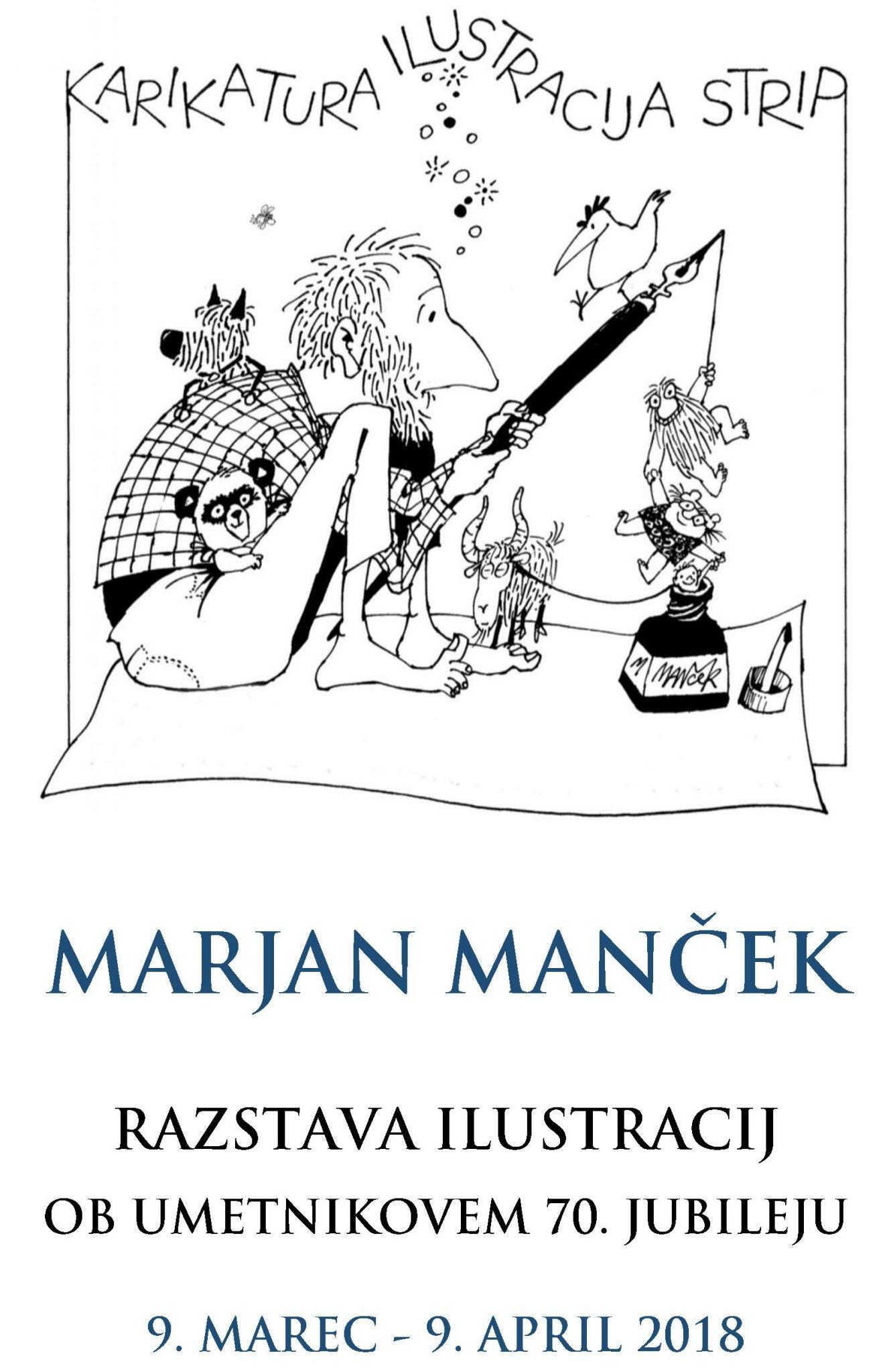 cover 1 - Marjan Manček – razstava ob 70. jubileju