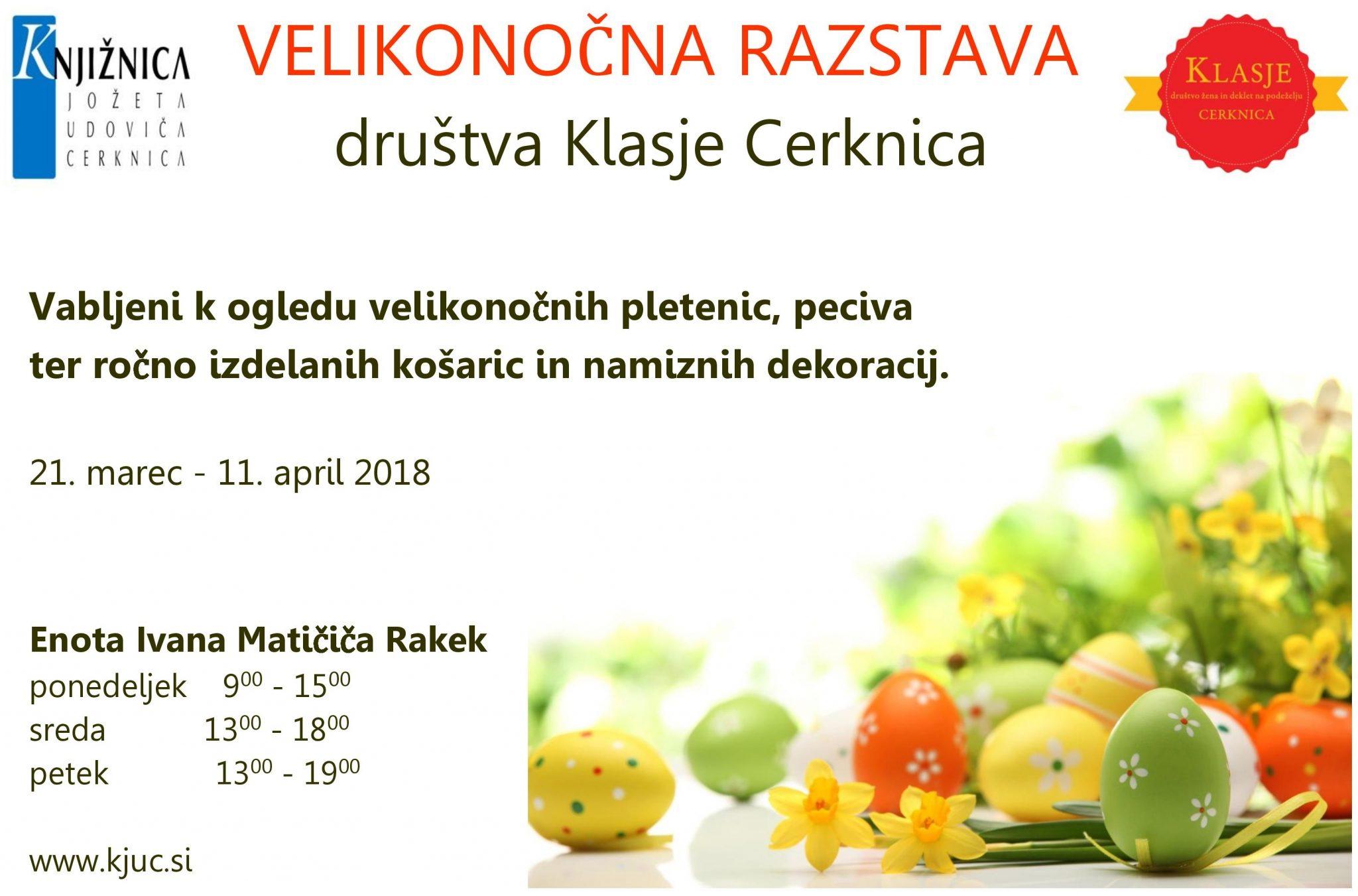 cover 7 - Velikonočna razstava društva Klasje Cerknica