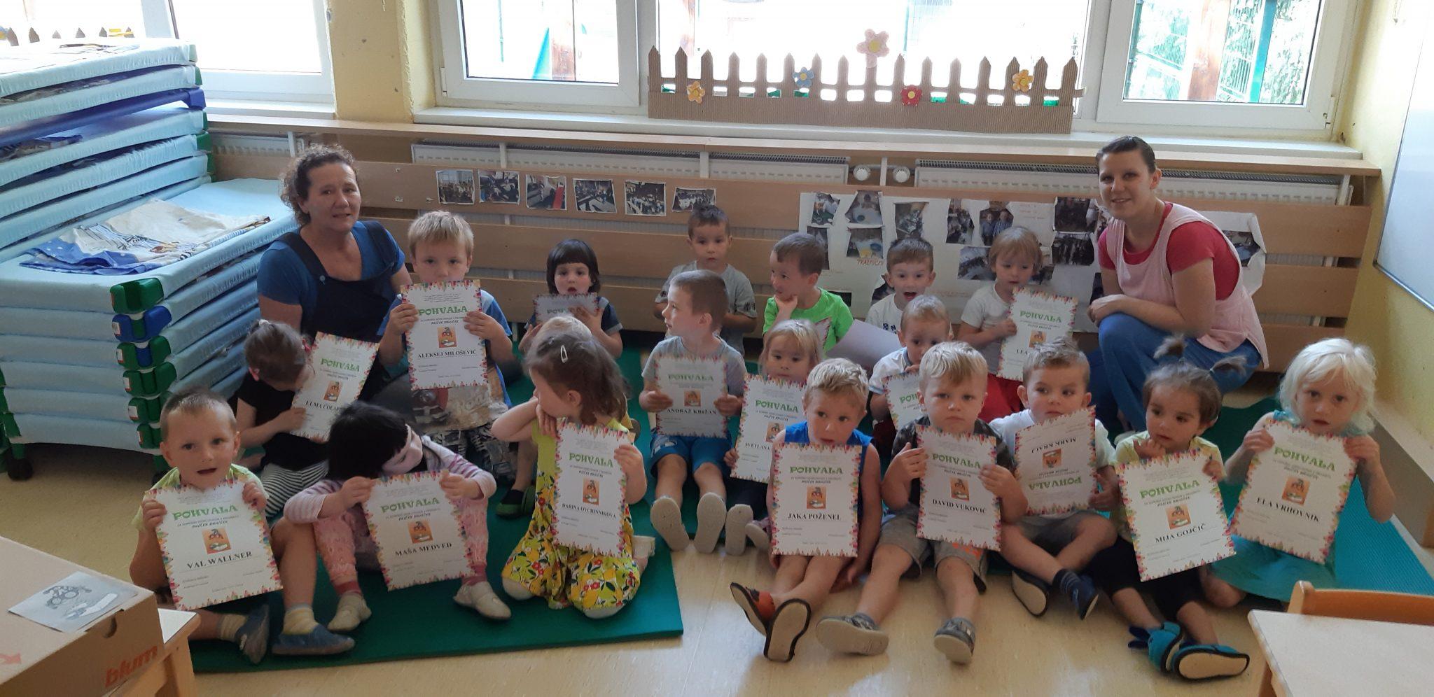 20180605 093652 - Palček Bralček pohvalil tudi otroke rakovškega vrtca