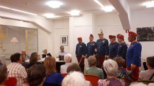 20180619 192357 300x169 - Večer družine Ivana Matičiča v počastitev poimenovanja knjižnice na Rakeku