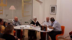 20180619 201223 300x169 - Večer družine Ivana Matičiča v počastitev poimenovanja knjižnice na Rakeku