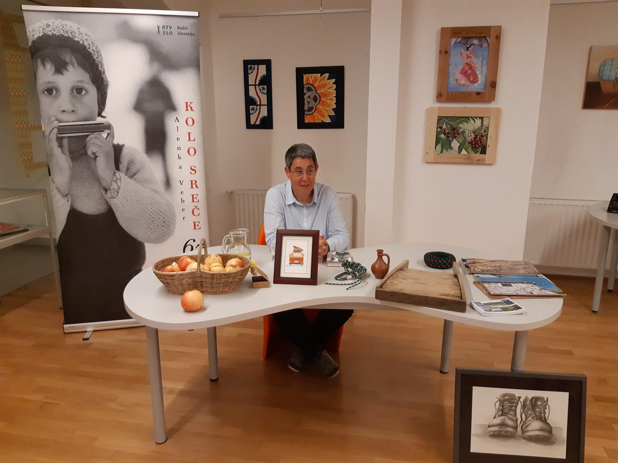 20181008 184301 - Alenka Veber – Kolo sreče. 67 babjepolskih iveri – predstavitev knjige