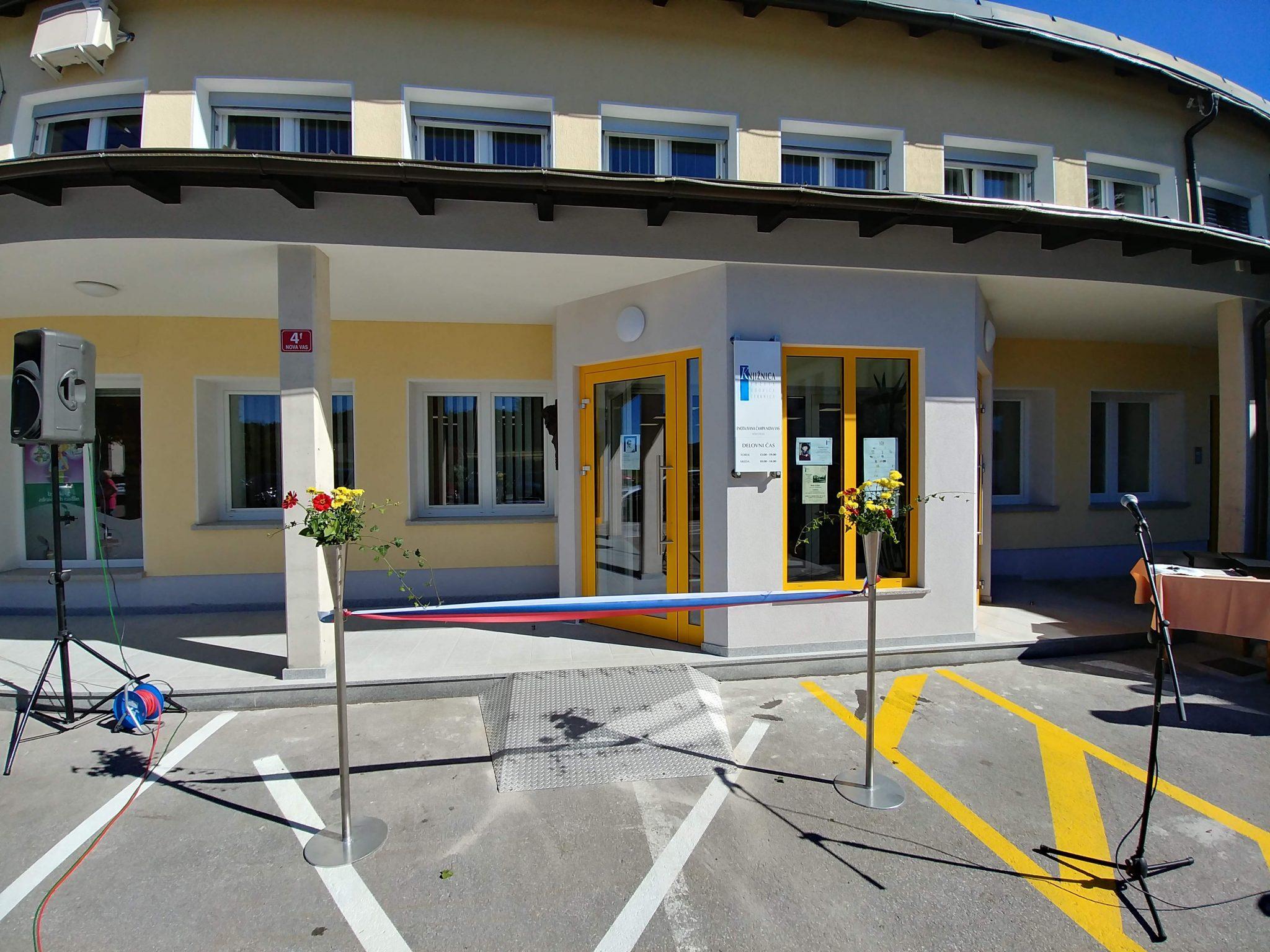 IMG 5232 - Odprtje novih prostorov KJUC – Enota Ivana Čampa Nova vas