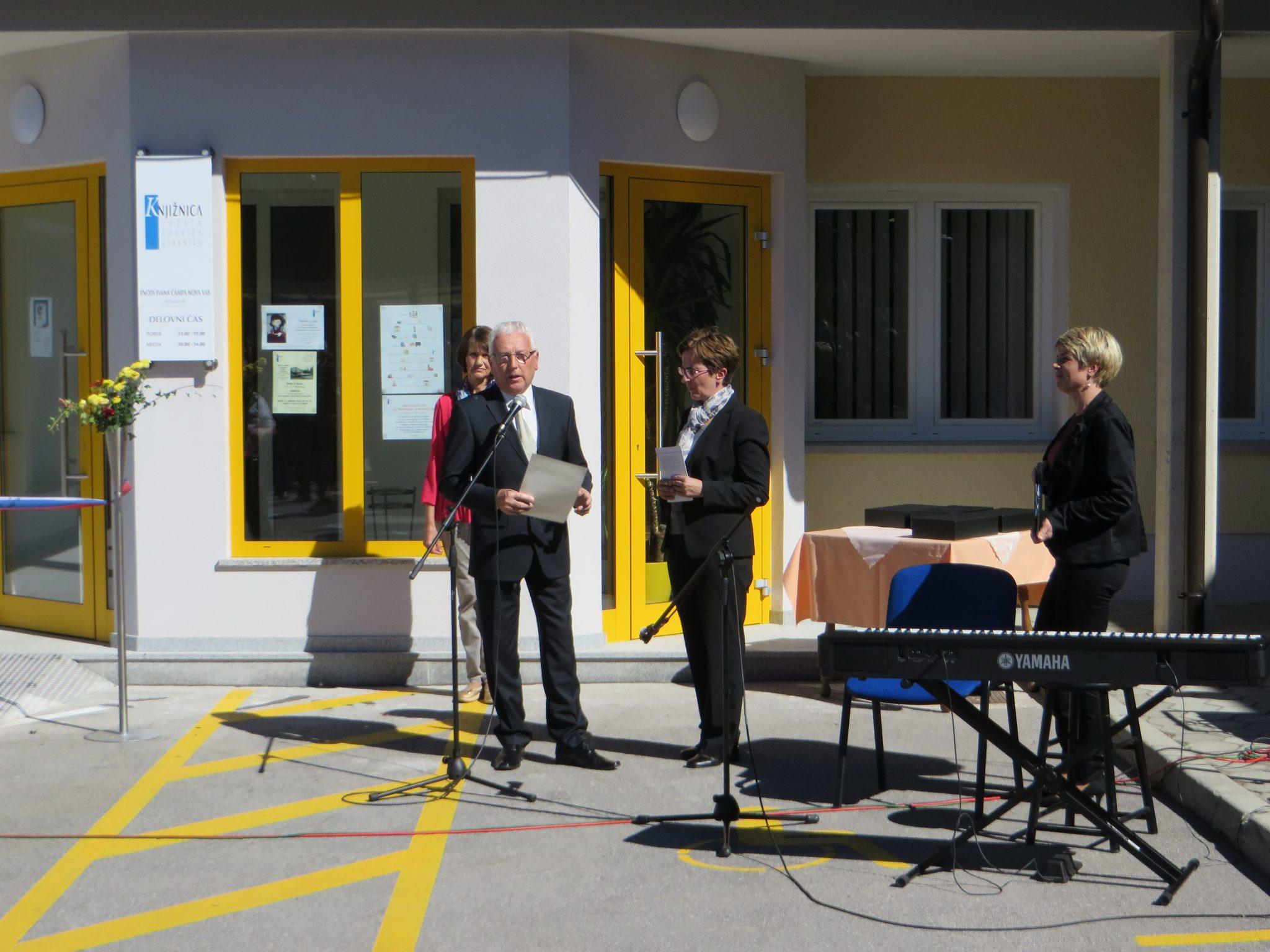 IMG 5298 - Odprtje novih prostorov KJUC – Enota Ivana Čampa Nova vas