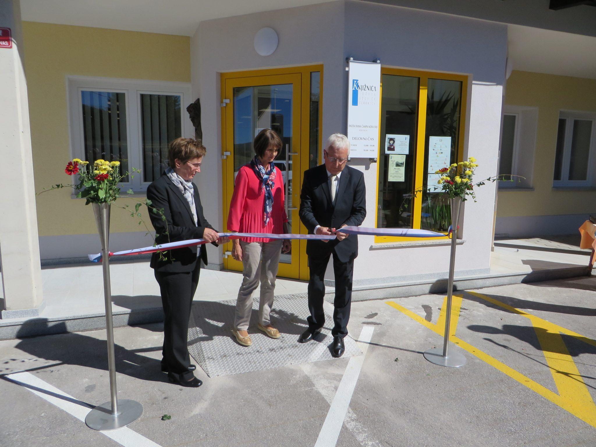 IMG 5305 - Odprtje novih prostorov KJUC – Enota Ivana Čampa Nova vas
