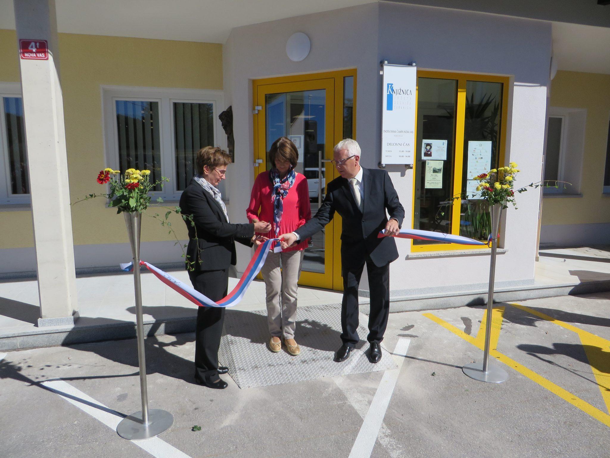 IMG 5309 - Odprtje novih prostorov KJUC – Enota Ivana Čampa Nova vas