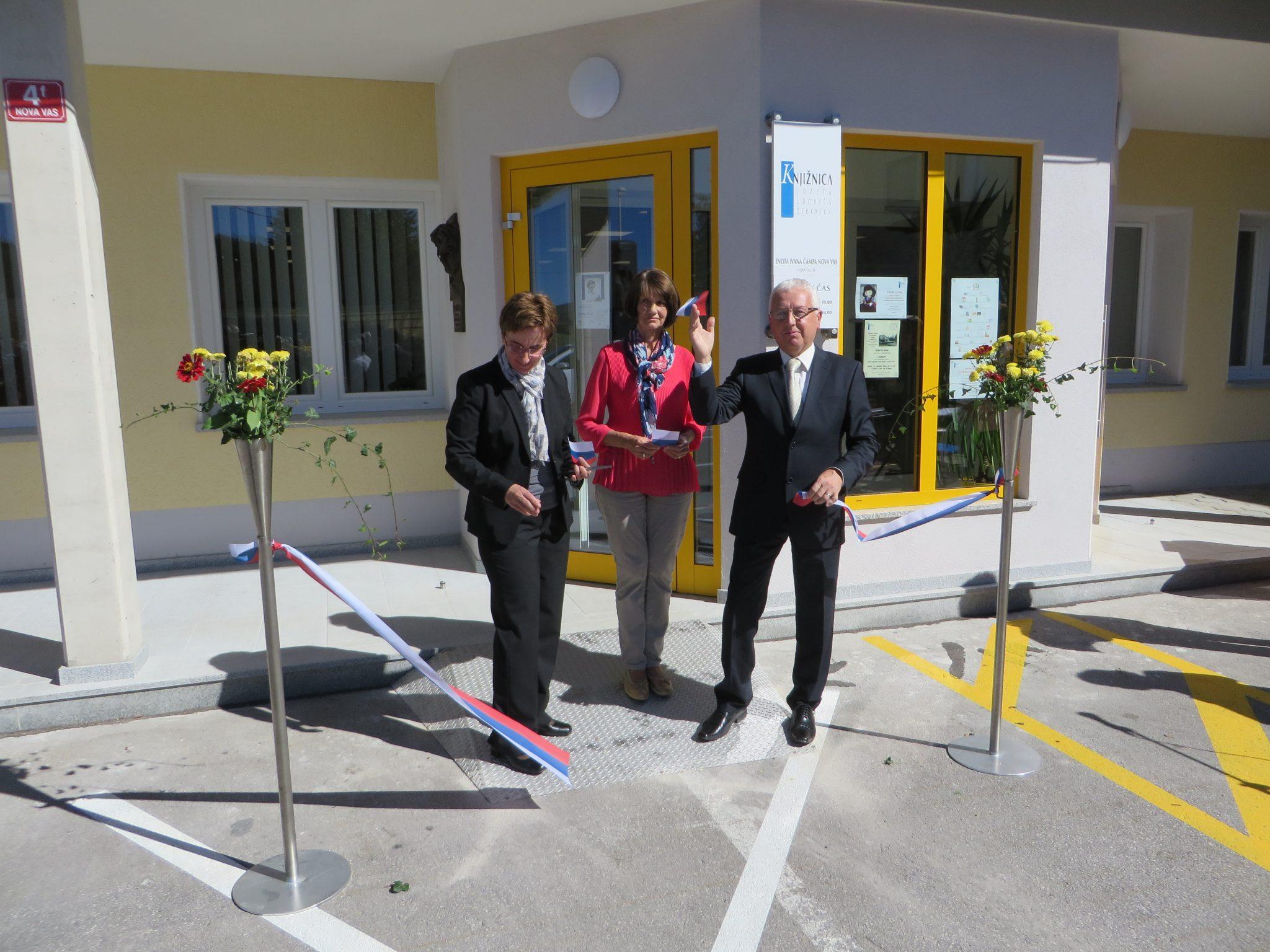 IMG 5312 - Odprtje novih prostorov KJUC – Enota Ivana Čampa Nova vas